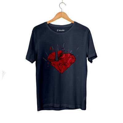 HH - Elçin Orçun Red Diamond Lacivert T-shirt