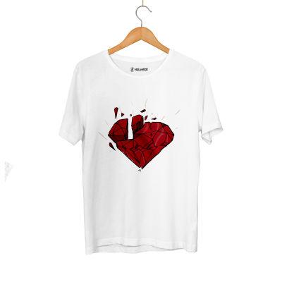 HH - Elçin Orçun Red Diamond Beyaz T-shirt