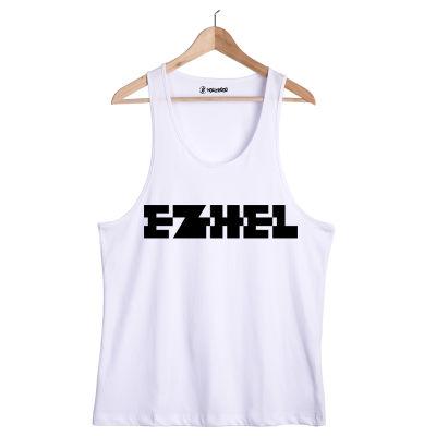 HH - Ezhel Tipografi Beyaz Atlet
