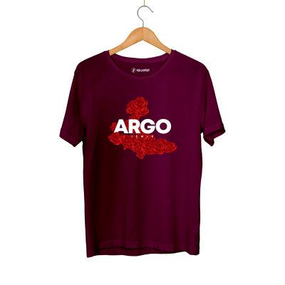 HH - Gazapizm Argo İzmir Rose Bordo T-shirt