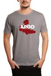 HH - Gazapizm Argo İzmir Rose Gri T-shirt - Thumbnail