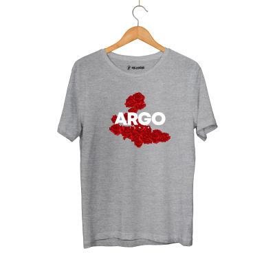HH - Gazapizm Argo İzmir Rose Gri T-shirt
