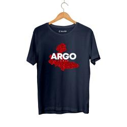 Gazapizm - HH - Gazapizm Argo İzmir Rose Lacivert T-shirt