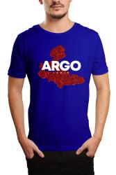 HH - Gazapizm Argo İzmir Rose Mavi T-shirt - Thumbnail