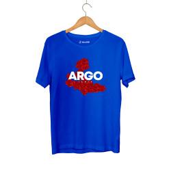Gazapizm - HH - Gazapizm Argo İzmir Rose Mavi T-shirt