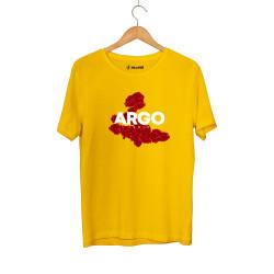 Gazapizm - HH - Gazapizm Argo İzmir Rose Sarı T-shirt