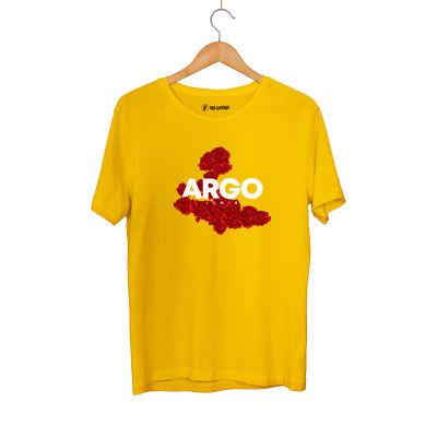 HH - Gazapizm Argo İzmir Rose Sarı T-shirt