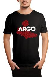 HH - Gazapizm Argo İzmir Rose Siyah T-shirt - Thumbnail