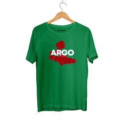 Gazapizm - HH - Gazapizm Argo İzmir Rose Yeşil T-shirt