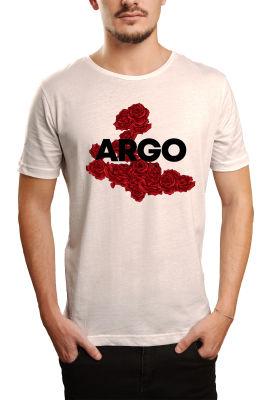HH - Gazapizm Argo İzmir Rose Beyaz T-shirt