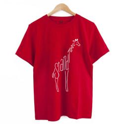 Glitch & Trap - HollyHood - Glict & Trap Stand Tall Kırmızı T-shirt ( ÖN SİPARİŞ )