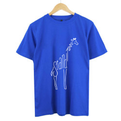 Glitch & Trap - HollyHood - Glict & Trap Stand Tall Mavi T-shirt ( ÖN SİPARİŞ )
