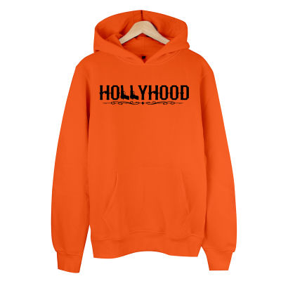 HollyHood - HollyHood Gun Turuncu Hoodie