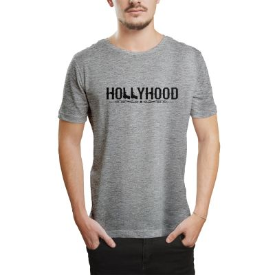 HH - Hollyhood Gun Gri T-shirt