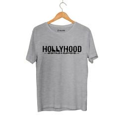 HH - Hollyhood Gun Gri T-shirt - Thumbnail