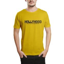 HH - Hollyhood Gun Sarı T-shirt - Thumbnail