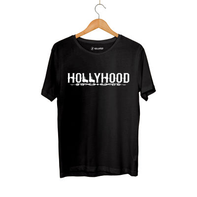 HH - Hollyhood Gun Siyah T-shirt