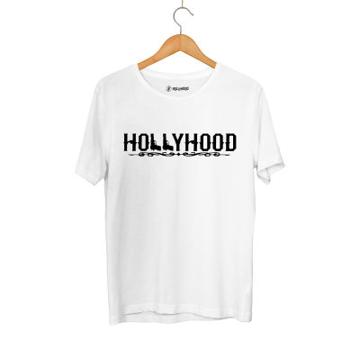 HH - Hollyhood Gun Beyaz T-shirt