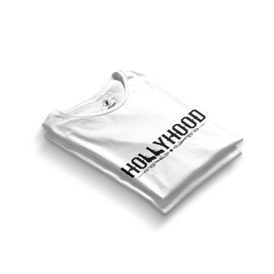 HH - Hollyhood Gun Beyaz T-shirt