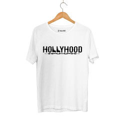 HH - Hollyhood Gun Beyaz T-shirt - Thumbnail