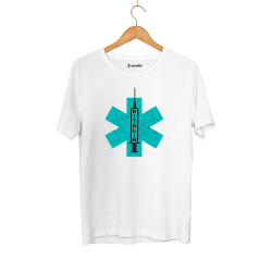 Hidra - HH - Hidra Ritalin Beyaz T-shirt