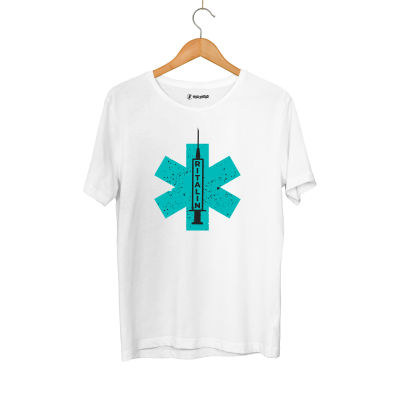 HH - Hidra Ritalin Beyaz T-shirt