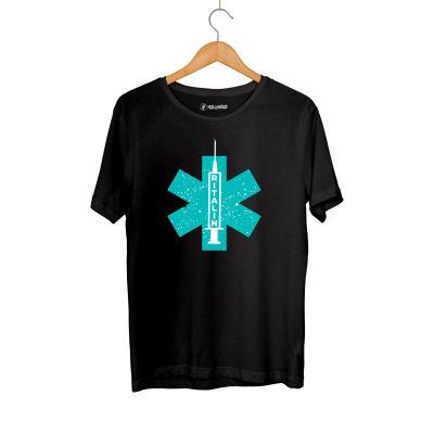 HH - Hidra Ritalin Siyah T-shirt