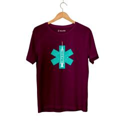 Hidra - HH - Hidra Ritalin Bordo T-shirt