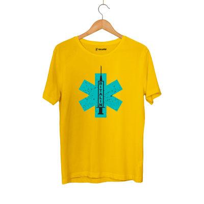 HH - Hidra Ritalin Sarı T-shirt
