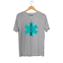 Hidra - HH - Hidra Ritalin Gri T-shirt