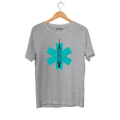HH - Hidra Ritalin Gri T-shirt