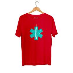 Hidra - HH - Hidra Ritalin Kırmızı T-shirt