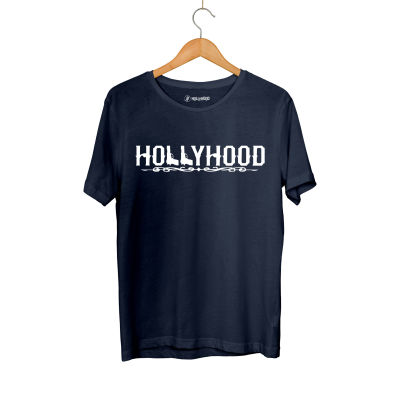 HH - Hollyhood Gun Lacivert T-shirt