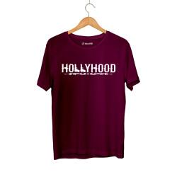 HollyHood - HH - Hollyhood Gun Bordo T-shirt