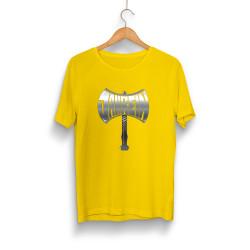 Jahrein - HH - Jahrein Balta Sarı T-Shirt