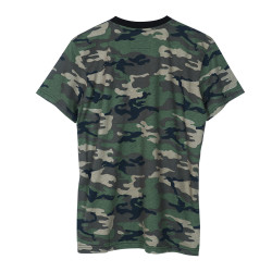 HollyHood Basic Kamuflaj T-shirt - Thumbnail