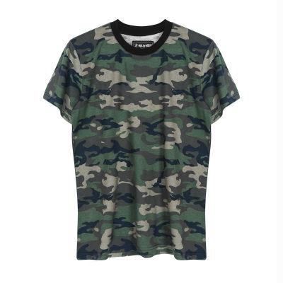 HollyHood Basic Kamuflaj T-shirt