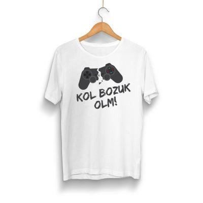 HH - Kol Bozuk Beyaz T-shirt