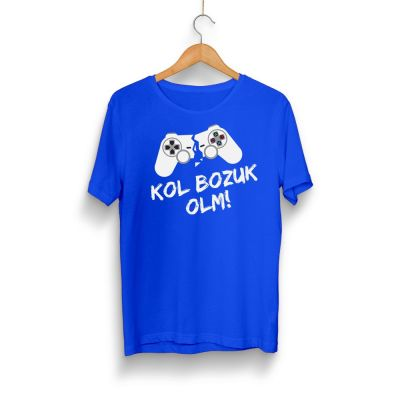 Gamer - HH - Kol Bozuk Mavi T-shirt