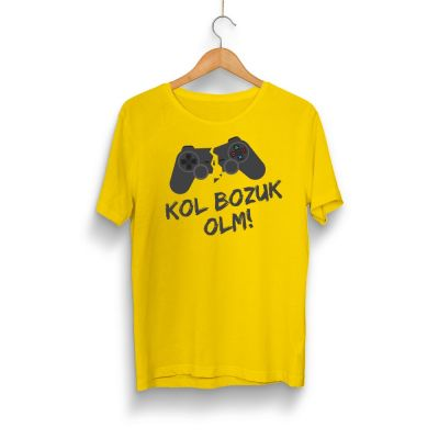 Gamer - HH - Kol Bozuk Sarı T-shirt