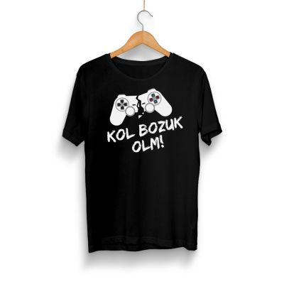 Gamer - HH - Kol Bozuk Siyah T-shirt