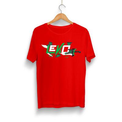 HH - Levo Kılıç Kırmızı T-shirt