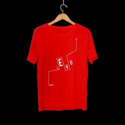 Levo - HH - Levo Logo Kırmızı T-shirt