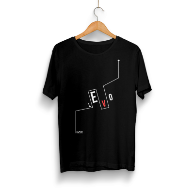 HH - Levo Logo Siyah T-shirt