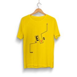 Levo - HH - Levo Logo Sarı T-shirt
