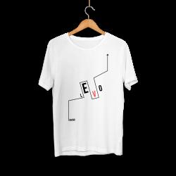 Levo - HH - Levo Logo Beyaz T-shirt