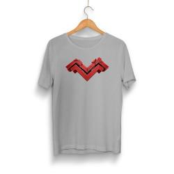 Mithrain - HH - Mithrain Logo Gri T-shirt