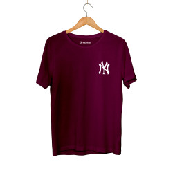 HollyHood - HH - NY Small Bordo T-shirt