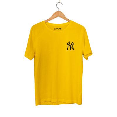 HH - NY Small Sarı T-shirt