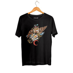 HollyHood - HollyHood - Owl Siyah T-shirt
